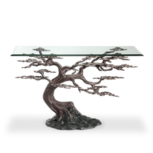 Cypress Tree Aluminum Tree Console Table | SPI Home | 34933