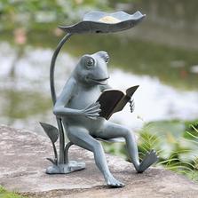 Reading Frog Bird Feeder | SPI Home | 34937