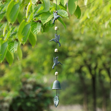 Hummingbird Trio Wind Chime | 51092 | SPI Home