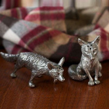 Fox Salt Pepper Shakers | Vagabond House | V116F