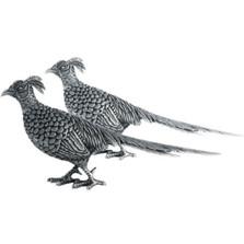 Pheasant Statuette Set of Two | Vagabond House | V920