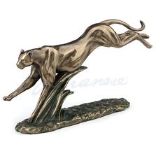 Running Cheetah Sculpture | Bronze Finish | Unicorn Studios |  WU77415A4