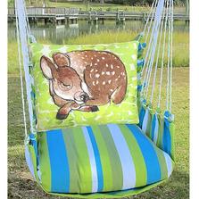 Sleeping Deer Hammock Chair Swing | Magnolia Casual | BBRR906-SP