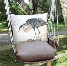 "Crane Hammock Chair Swing ""Chocolate"" | Magnolia Casual |CHSW903-SP"