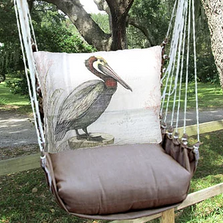 "Pelican Hammock Chair Swing ""Chocolate"" 