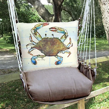 "Crab Hammock Chair Swing ""Chocolate"" 