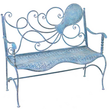 Octopus Iron Garden Bench | Zaer Ltd International | ZR160015