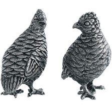 Quail Salt Pepper Shakers | Vagabond House | VHCV923