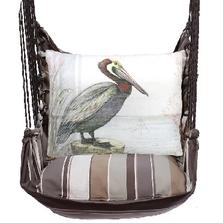 "Pelican Hammock Chair Swing ""Slate Gray"" | Magnolia Casual | SGSW902-SP"