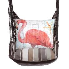 "Flamingo Hammock Chair Swing ""Slated Gray"" | Magnolia Casual | SGSW804-SP"