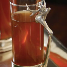 Tall Stag Glass  Set of 4 | Vagabond House | V933