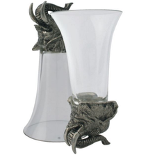 Elephant Stirrup Cup Set of 4 | Vagabond House | V942E