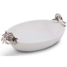 Artichoke Stoneware Dish | Vagabond House | VHCG306AK