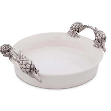 Artichoke Stoneware Pie Dish | Vagabond House | VHCG327AK