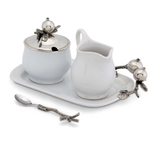 Pomegranate Creamer Set | Vagabond House | G317PG