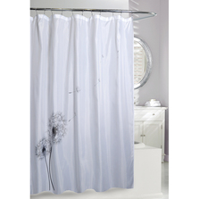 Dandelion Fabric Shower Curtain | Moda at Home