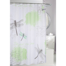 Dragonfly Fabric Shower Curtain | Moda at Home