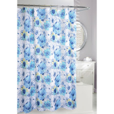 Floral Bouquet Fabric Shower Curtain | Moda at Home