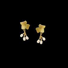 Ivy Post Earrings | Nature Jewelry | Michael Michaud | 3549BZ