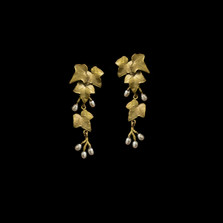 Ivy Statement Post Earrings | Nature Jewelry | Michael Michaud | 3551BZ