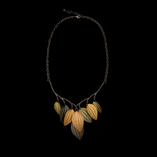 "Piper Leaf 16"" Collar Necklace 
