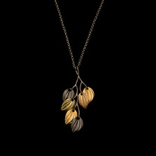 "Piper Leaf 20"" Branch Pendant Necklace 