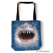 "Shark Face 18"" Tote Bag 