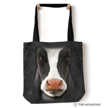 """Black Cow Face 18"""" Tote Bag   The Mountain   Cow Tote Bag   9733462"""