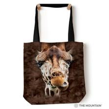 """Giraffe Face 18"""" Tote Bag   The Mountain   9736192"""