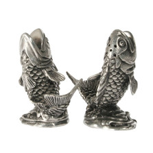 Salmon Salt Pepper Shakers | Vagabond House | V974
