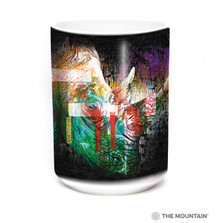 Painted Rhino 15oz Ceramic Mug | The Mountain | 57632509011 | Rhino Mug