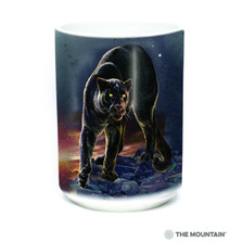 Black Panther Portrait 15oz Ceramic Mug | The Mountain | 57627709011 | Panther Mug