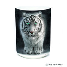 White Tiger 15oz Ceramic Mug | Wild Intentions | The Mountain | 57627409011