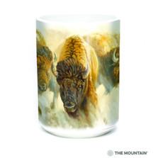 Bison Herd 15oz Ceramic Mug | The Mountain | 57627909011 | Bison Mug