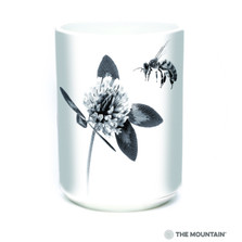 Clover Bee My Voice 15oz Ceramic Mug | The Mountain | 57555909011 | Bee Mug