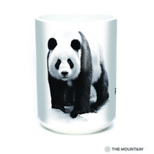 Panda Bear 15oz Ceramic Mug | Protect my Home | The Mountain | 57555509011 | Panda Bear Mug
