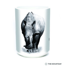 Rhino 15oz Ceramic Mug | I am not a Trophy | The Mountain | 57555209011 | Rhinoceros Mug