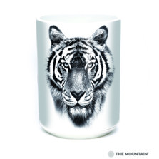 "Tiger ""Endangered"" 15oz Ceramic Mug 