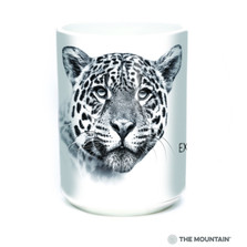 Leopard 15oz Ceramic Mug | Extinction is Forever | The Mountain | 57555609011