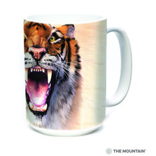 Roaring Tiger Face 15oz Ceramic Mug | The Mountain | 57591109011