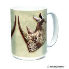 White Rhino 15oz Ceramic Mug | The Mountain | 57590109011