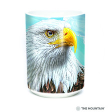 Guardian Eagle 15oz Ceramic Mug | The Mountain | 57495609011 | Bald Eagle Mug