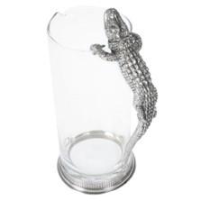 Alligator Glass Pitcher | Vagabond House | V992