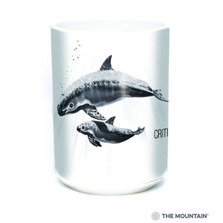 "Whales ""Critically Endangered"" 15oz Ceramic Mug 