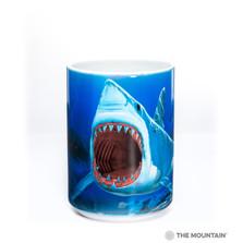 Shark Bite 15oz Ceramic Mug | The Mountain | 57310309011 | Shark Mug