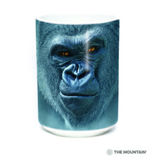 Smiling Gorilla 15oz Ceramic Mug | The Mountain | 57590709011 | Gorilla Mug