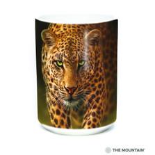 Savage Leopard 15oz Ceramic Mug | The Mountain | 57494409011 | Leopard Mug