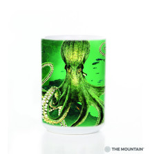 Octopus 15oz Ceramic Mug | The Mountain | 57228209011 | Octopus Mug