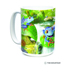 "Tree Frogs ""Frog Capades"" 15oz Ceramic Mug 