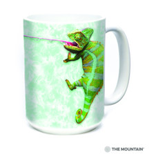 Climbing Chameleon 15oz Ceramic Mug | The Mountain | 57405209011 | Chameleon Mug